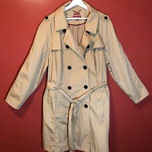 Merona full length trench coat